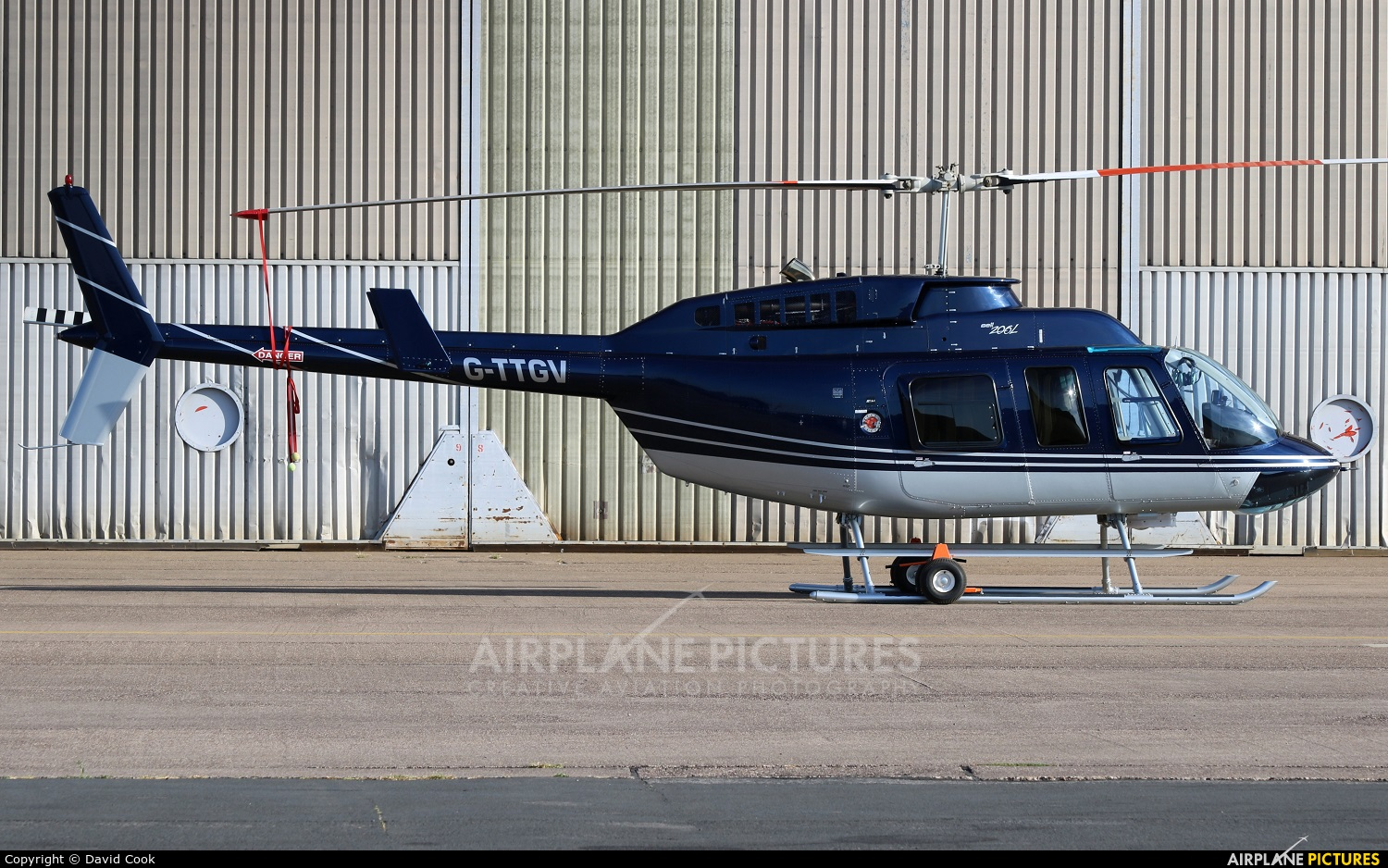 Private G-TTGV aircraft at East Midlands