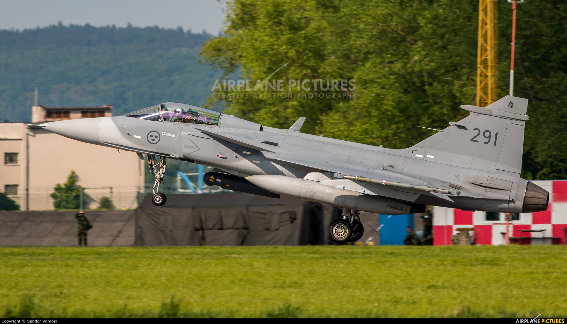 Sweden - Air Force 291 aircraft at Čáslav