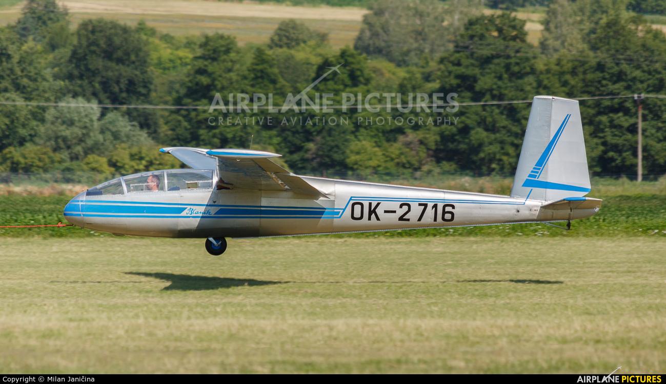 Private OK-2716 aircraft at Prievidza
