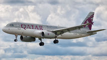 A7-ADI - Qatar Airways Airbus A320 aircraft
