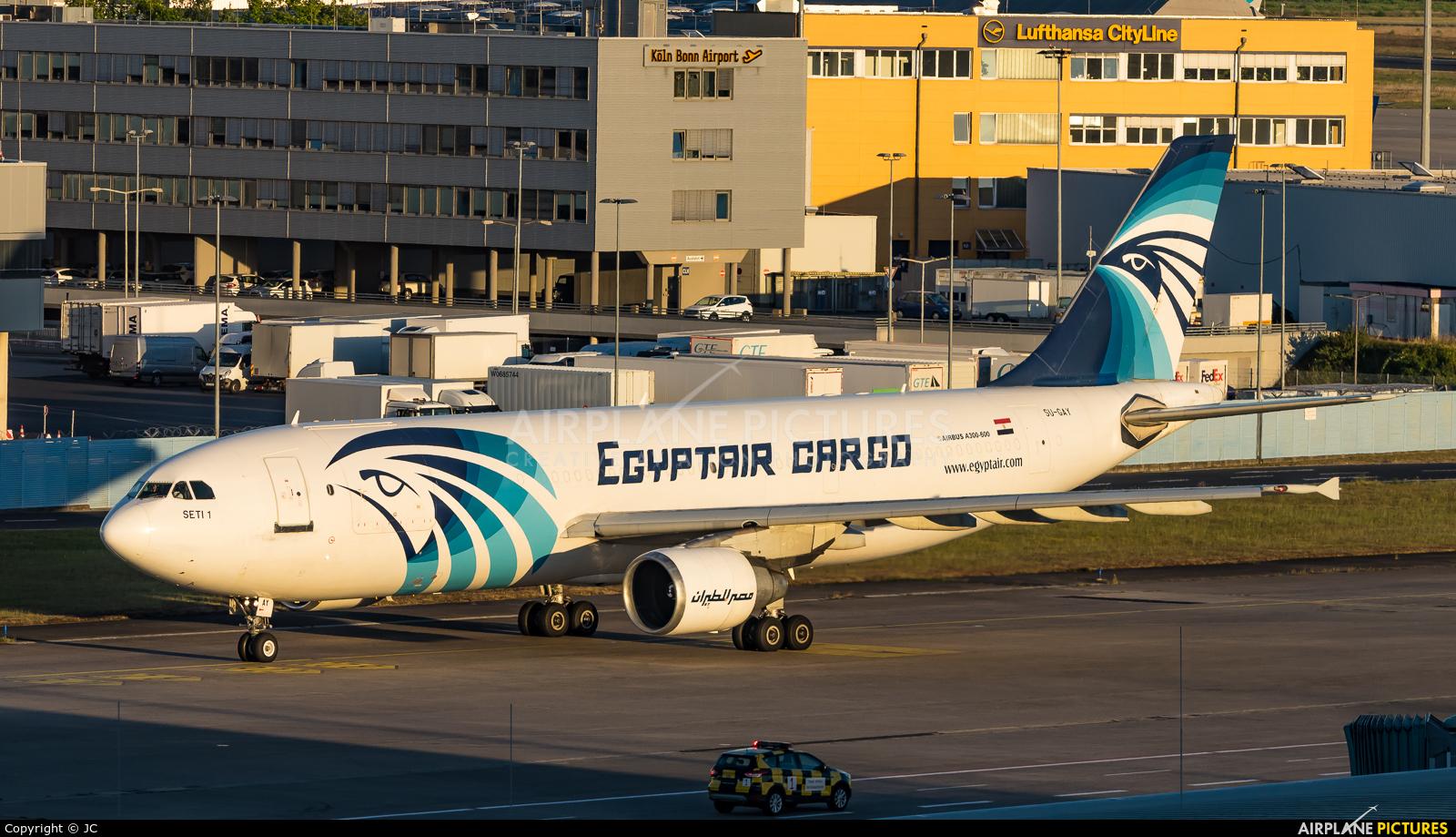 Egyptair Cargo SU-GAY aircraft at Cologne Bonn - Konrad Adenauer