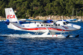 9A-TOE - European Coastal Airlines de Havilland Canada DHC-6 Twin Otter