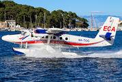 9A-TOC - European Coastal Airlines de Havilland Canada DHC-6 Twin Otter aircraft