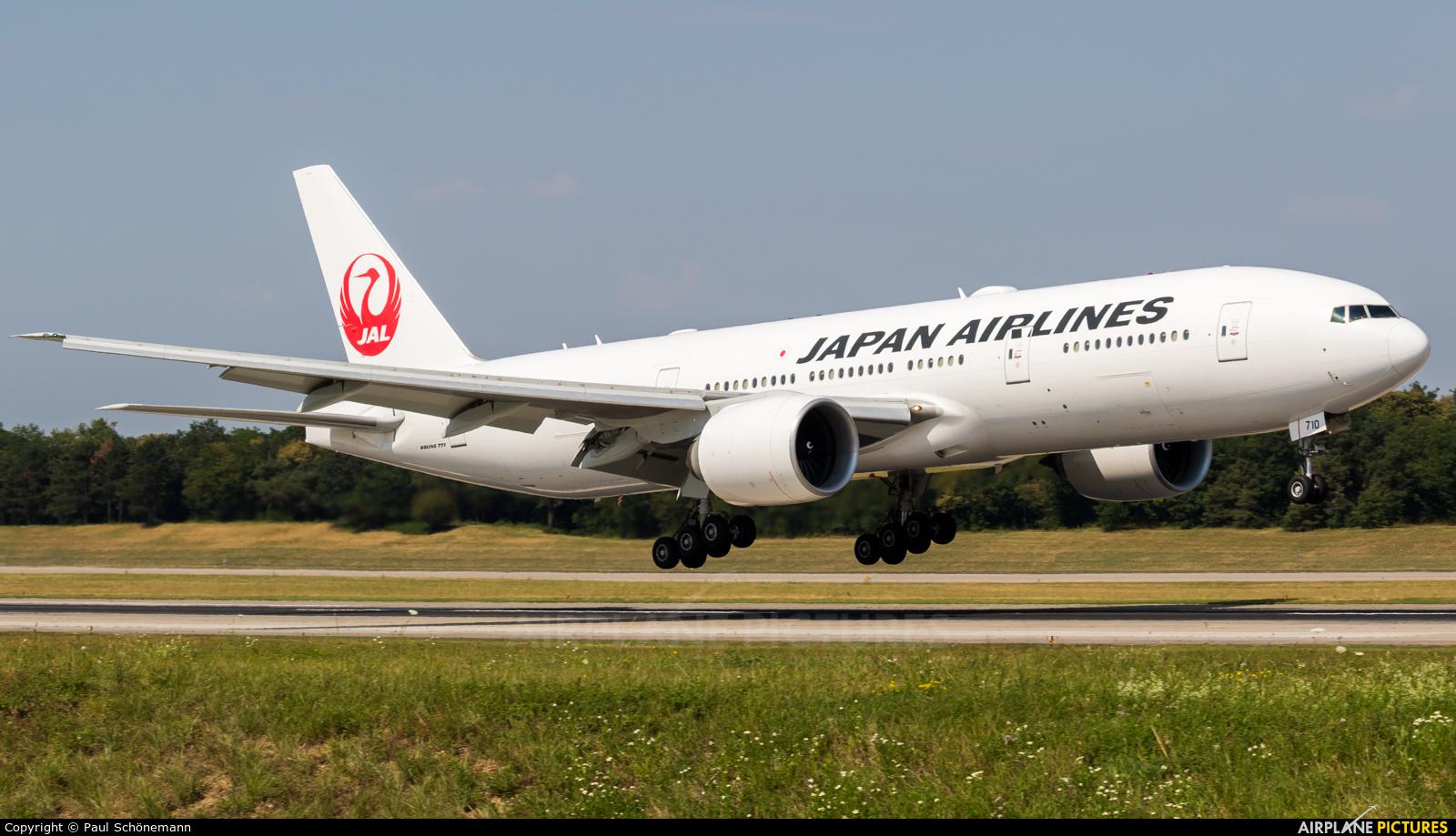 JAL - Japan Airlines JA710J aircraft at Basel - Mulhouse- Euro