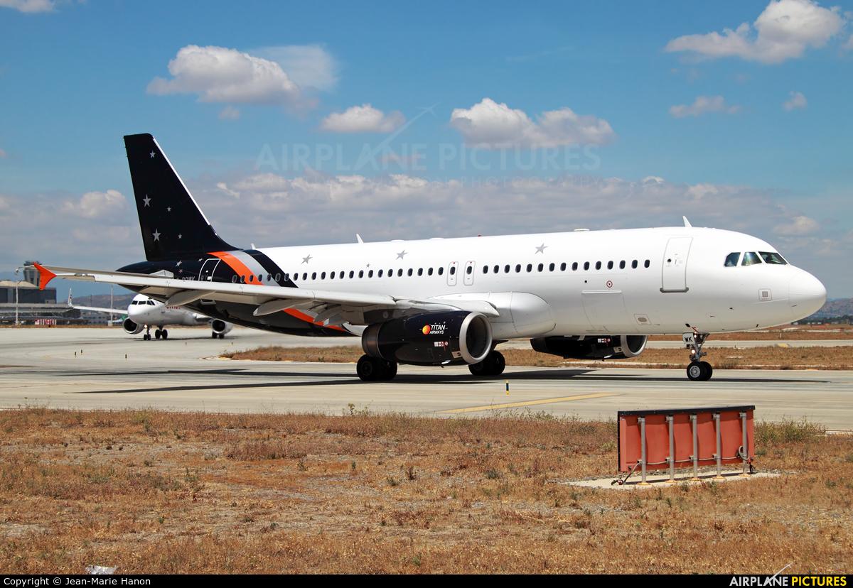 Titan Airways G-POWK aircraft at Málaga