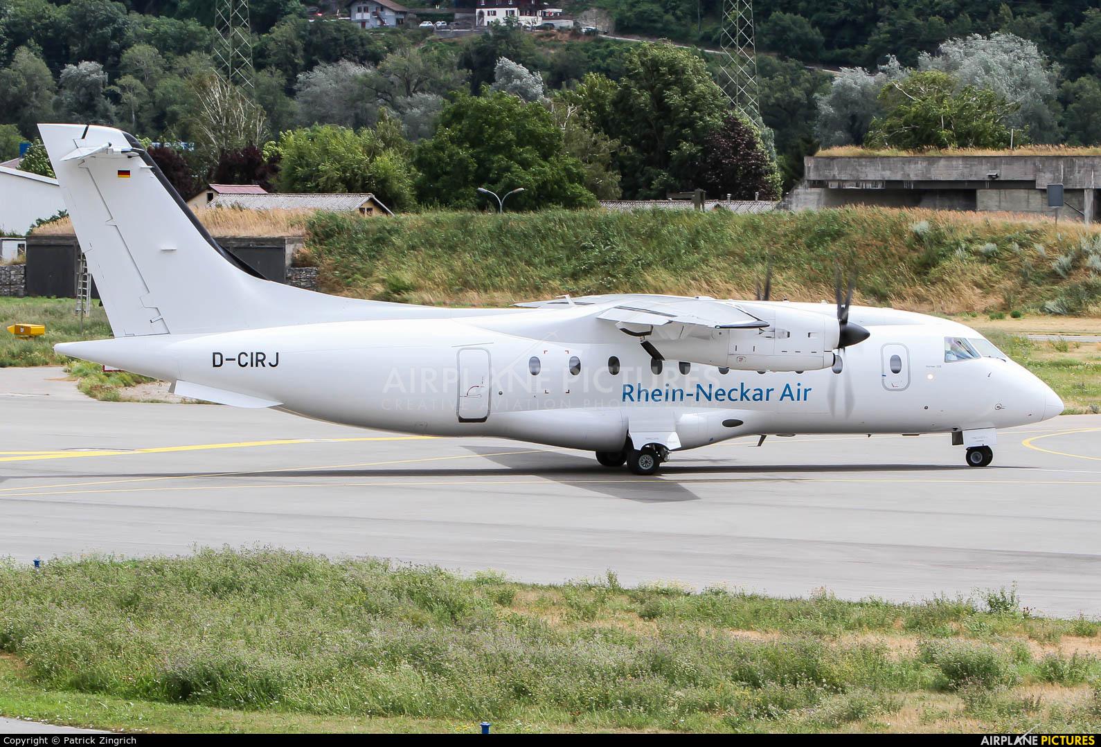 Rhein-Neckar Air D-CIRJ aircraft at Sion