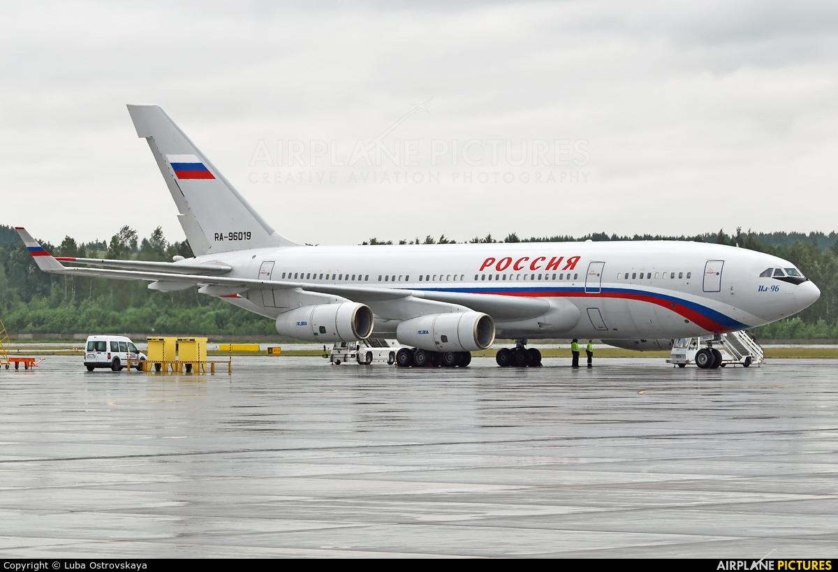 Rossiya Special Flight Detachment RA-96019 aircraft at St. Petersburg - Pulkovo