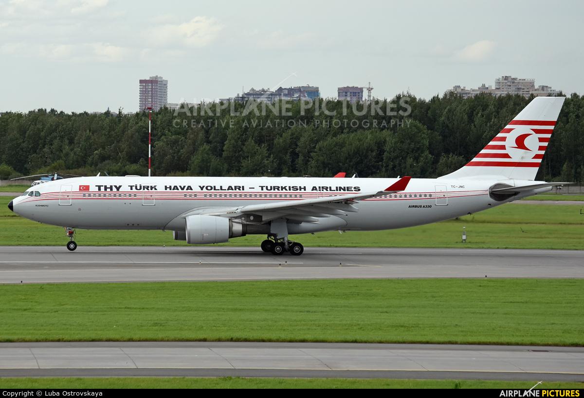 Turkish Airlines TC-JNC aircraft at St. Petersburg - Pulkovo