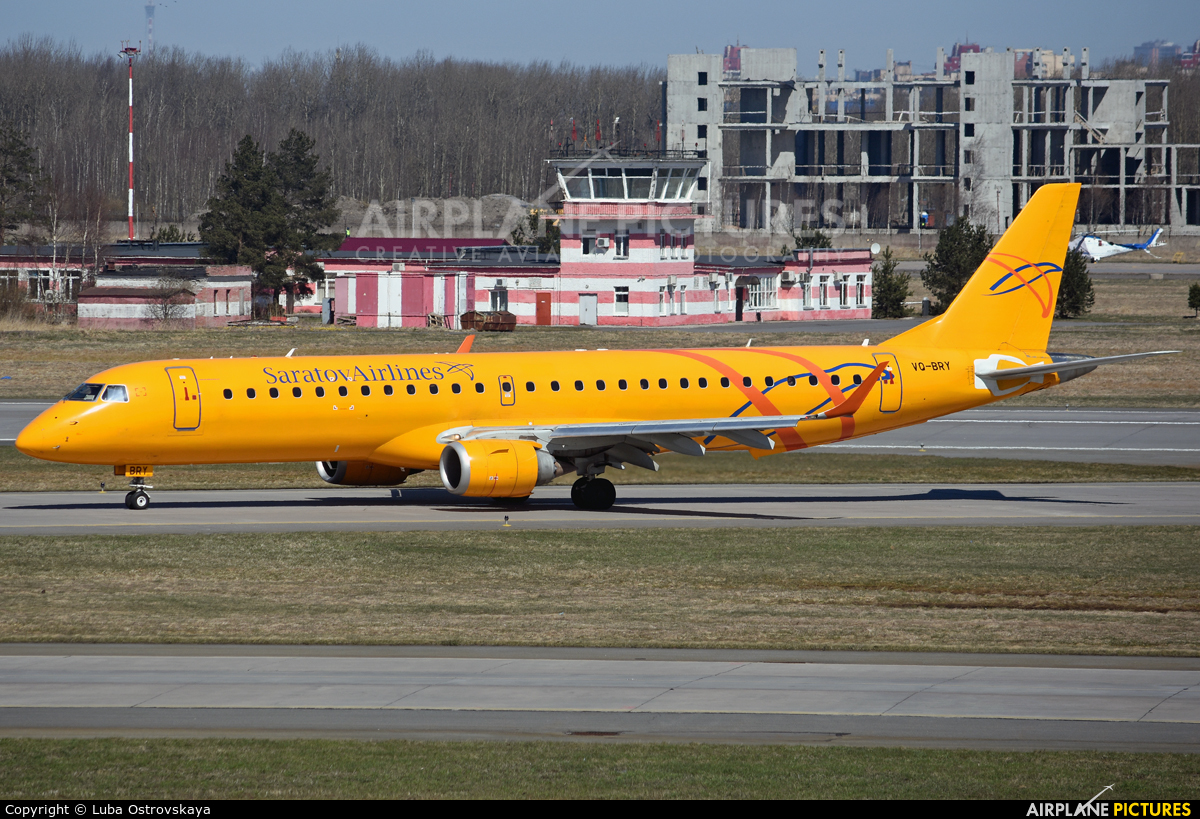 Saratov Airlines VQ-BRY aircraft at St. Petersburg - Pulkovo