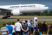 Rare visit of Japan Airlines B772 to Basel title=