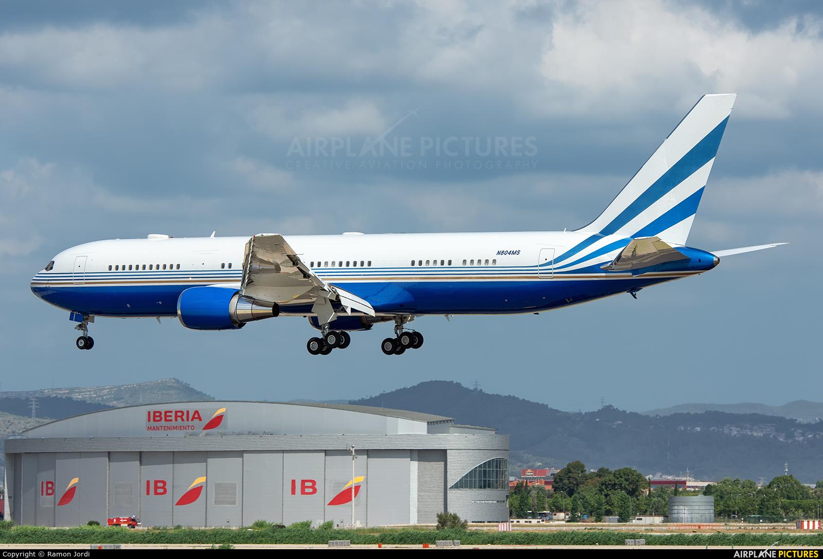 Las Vegas Sands N804MS aircraft at Barcelona - El Prat