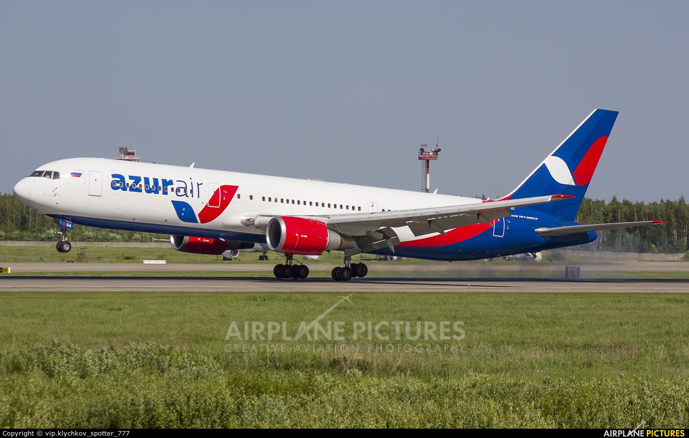 AzurAir VQ-BSX aircraft at Moscow - Domodedovo