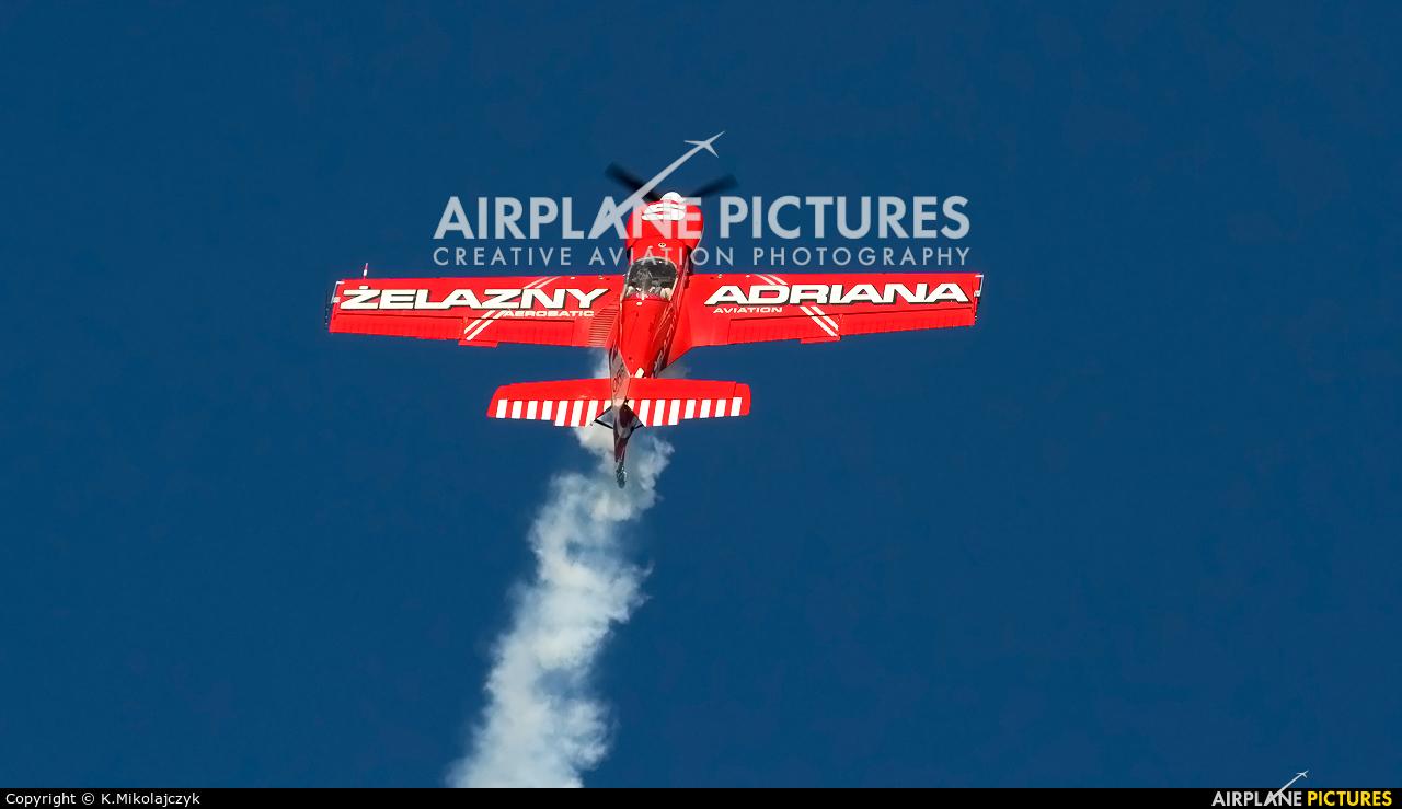 Grupa Akrobacyjna Żelazny - Acrobatic Group SP-AUE aircraft at Wrocław - Szymanów