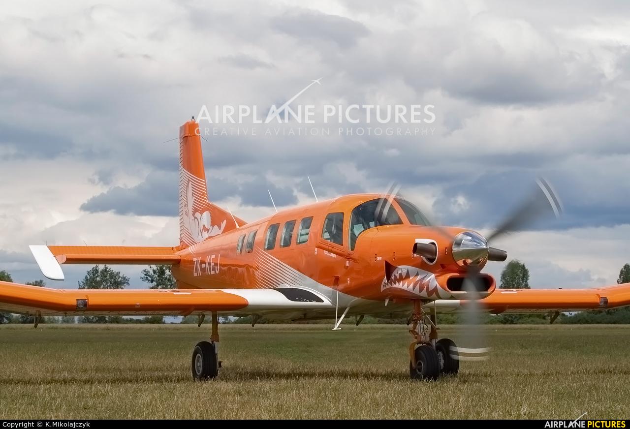Aeroklub Gdański ZK-KEJ aircraft at Wrocław - Szymanów