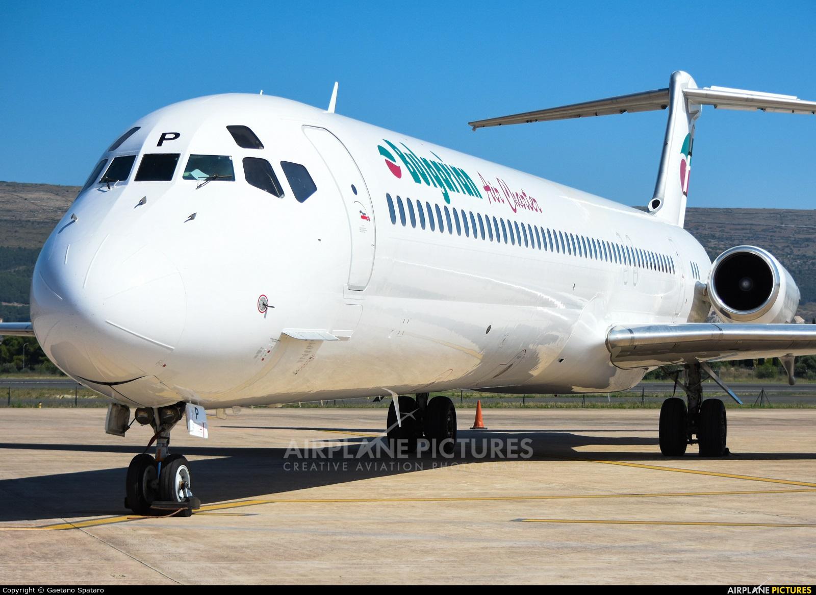 Bulgarian Air Charter LZ-LDP aircraft at Comiso - Sicily