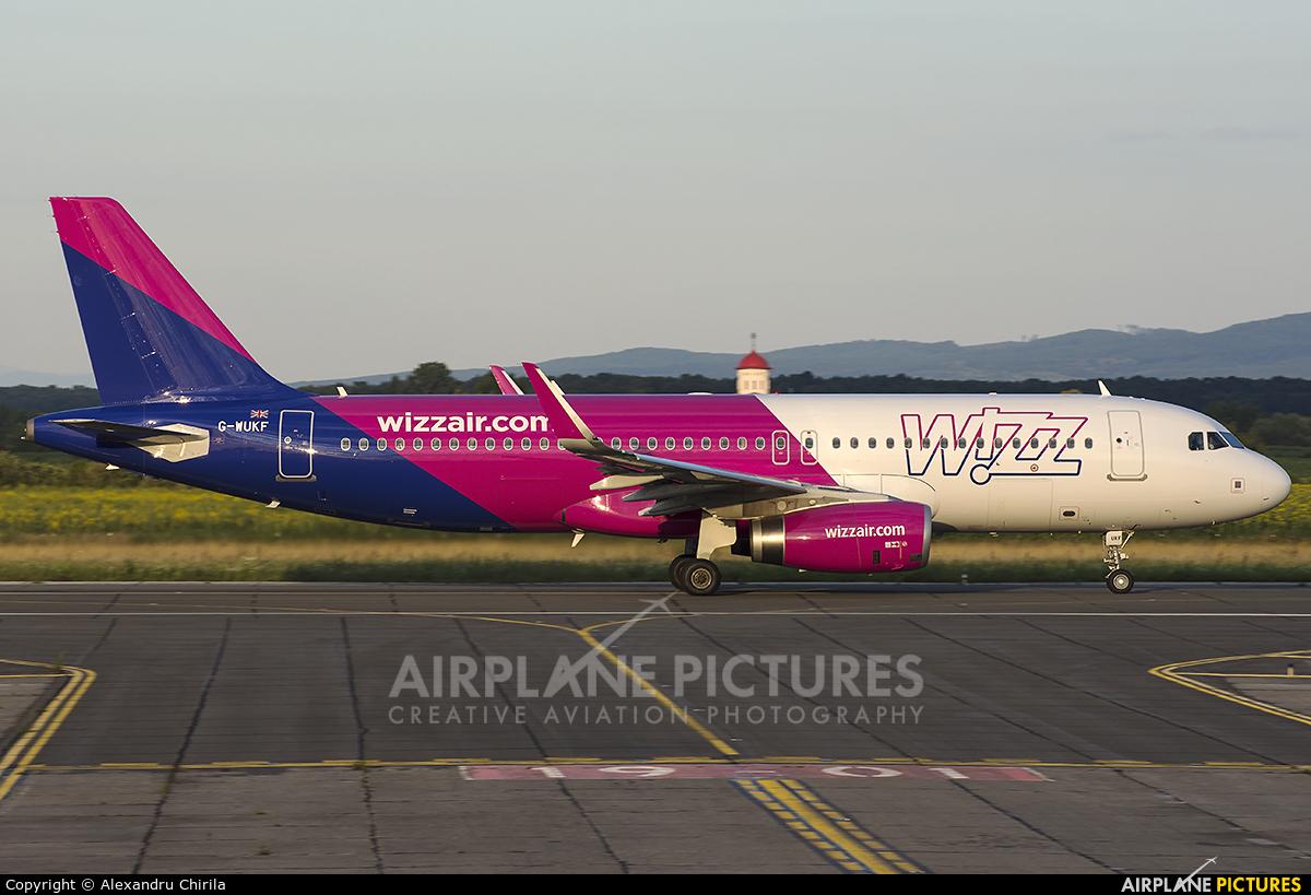 Wizz Air UK G-WUKF aircraft at Satu-Mare
