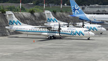 Two ATR 72s of Aeromar visited Guatemala La Aurora title=