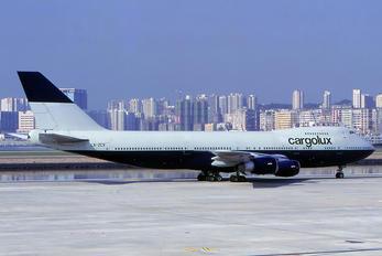 LX-ZCV - Cargolux Boeing 747-200F