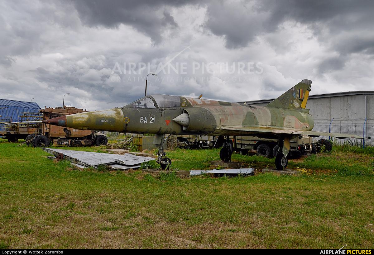 Belgium - Air Force BA-21 aircraft at Dęblin - Museum of Polish Air Force