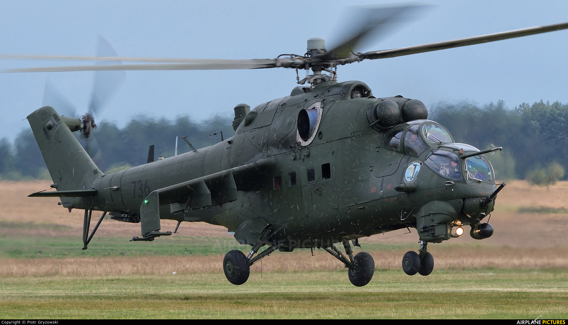Poland - Army 736 aircraft at Nowy Targ