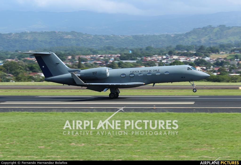 Chile - Air Force 912 aircraft at San Jose - Juan Santamaría Intl