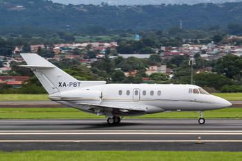 XA-PBT - Private Hawker Beechcraft 800