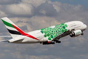 A6-EOK - Emirates Airlines Airbus A380 aircraft
