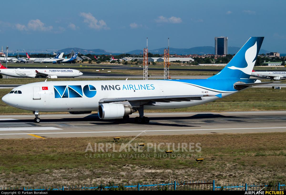 MNG Airlines TC-MCD aircraft at Istanbul - Ataturk
