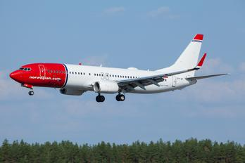 EI-FJK - Norwegian Air International Boeing 737-800
