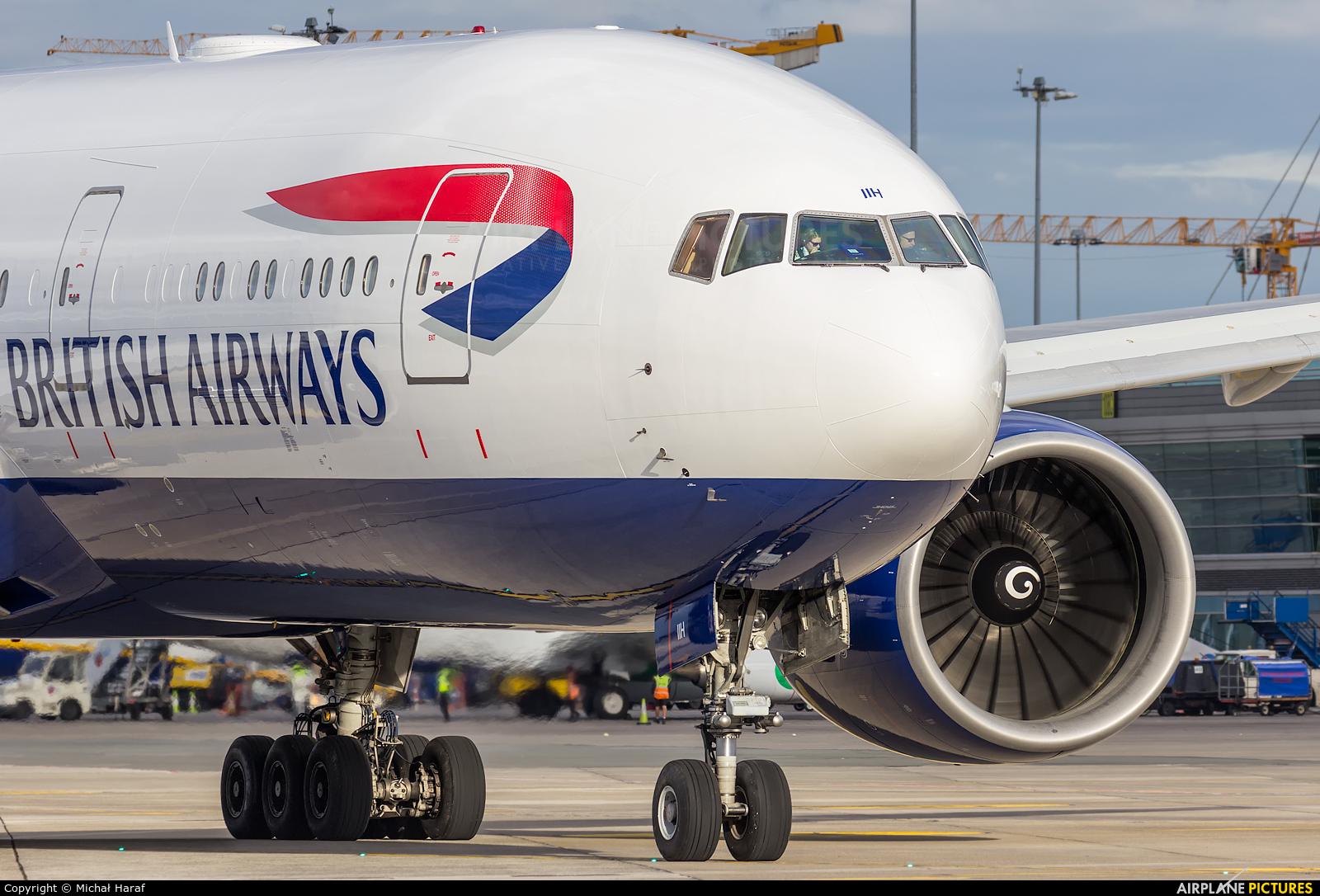 British Airways G-VIIH aircraft at Dublin