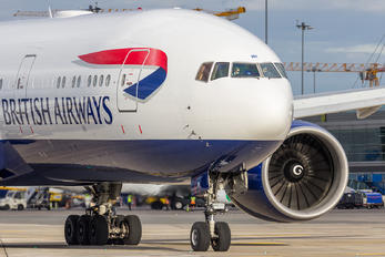 G-VIIH - British Airways Boeing 777-200