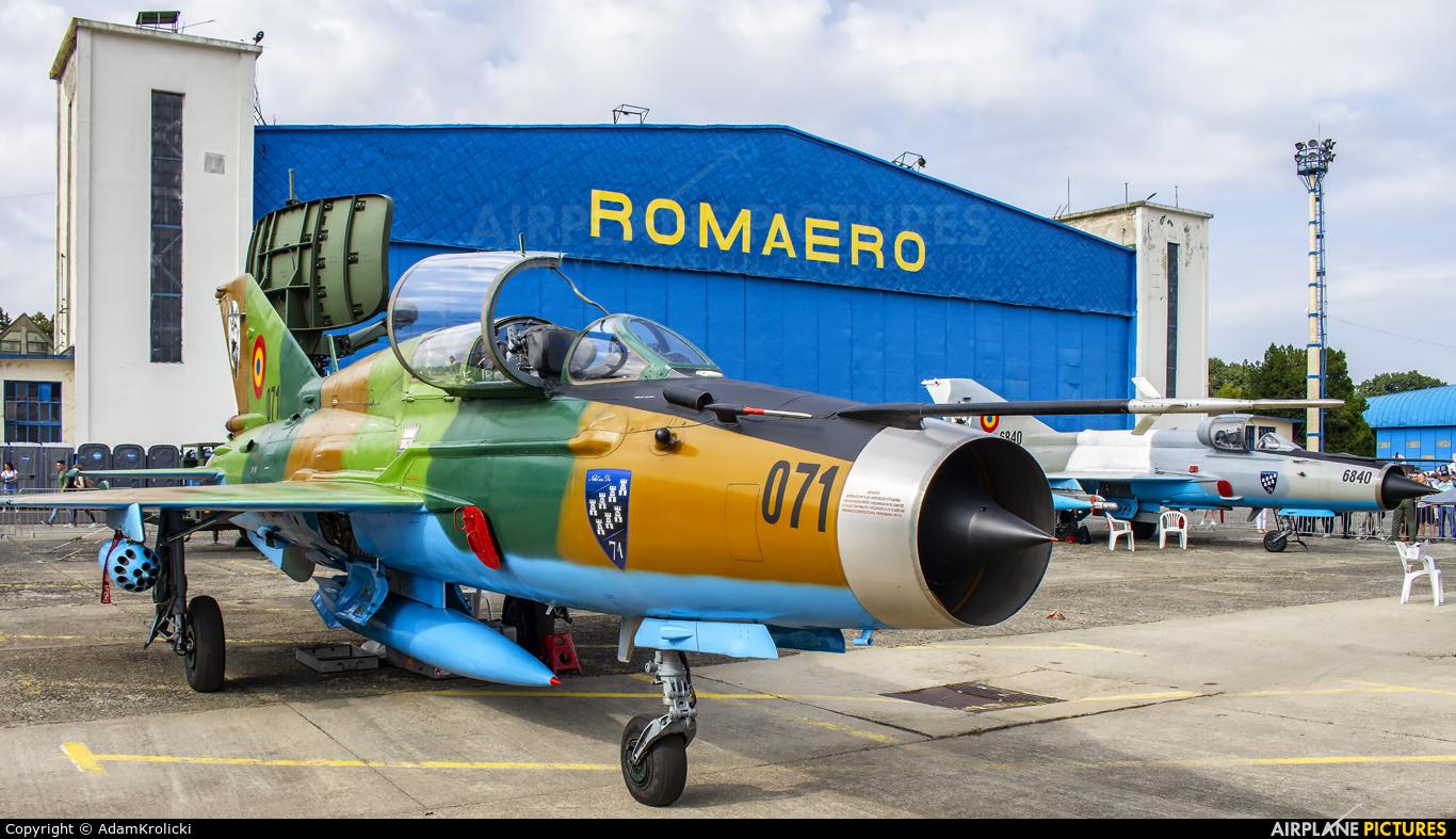 Romania - Air Force 071 aircraft at Bucharest - Aurel Vlaicu Intl