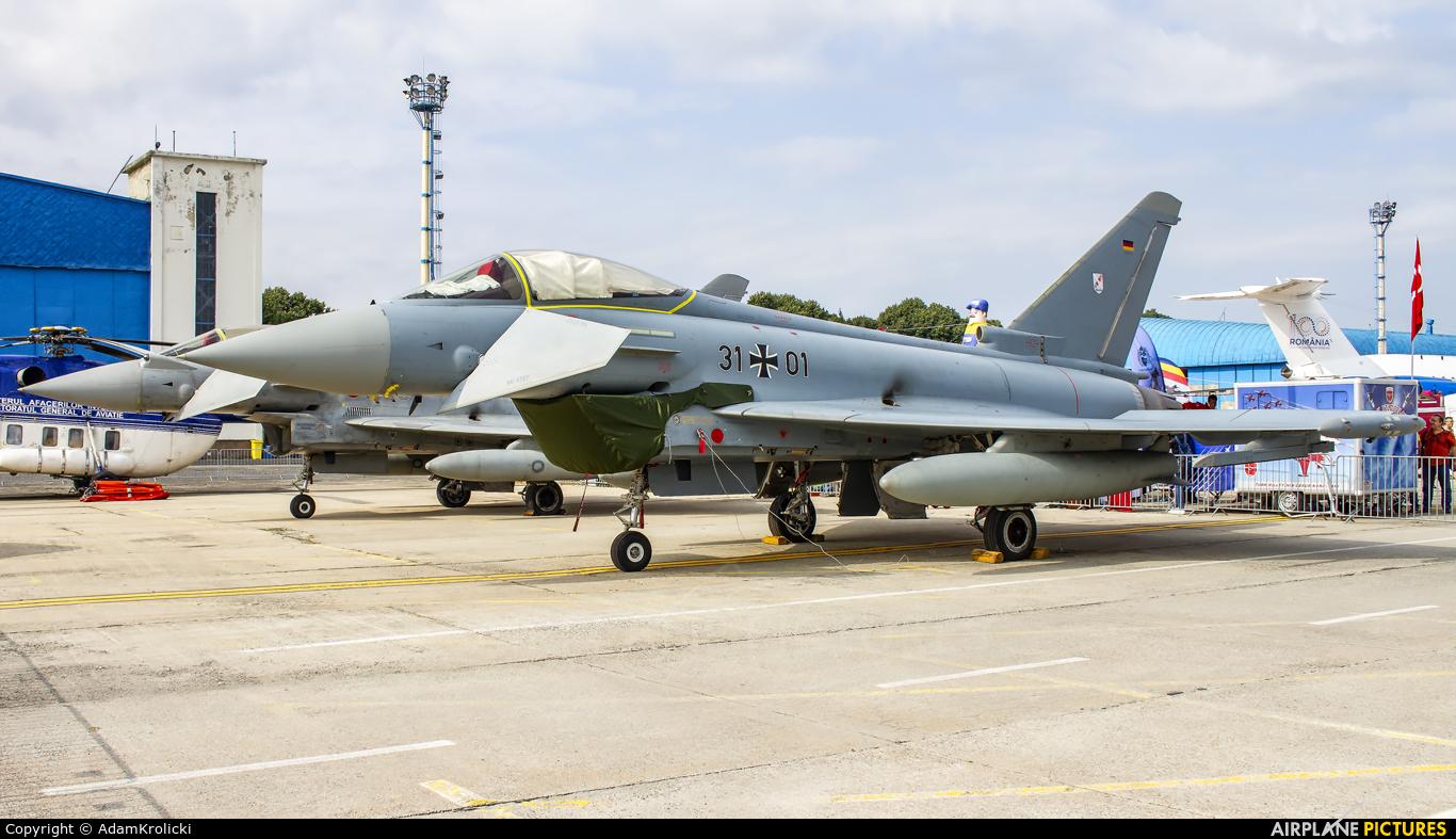 Germany - Air Force 31+01 aircraft at Bucharest - Aurel Vlaicu Intl