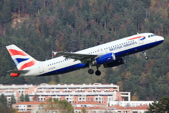 G-EUUM - British Airways Airbus A320