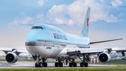 HL7460 - Korean Air Boeing 747-400
