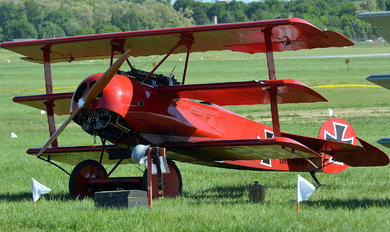 OK-UAA 90 - Private Fokker DR.1 Triplane (replica)