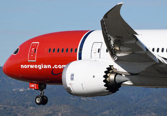 LN-LNE - Norwegian Long Haul Boeing 787-8 Dreamliner