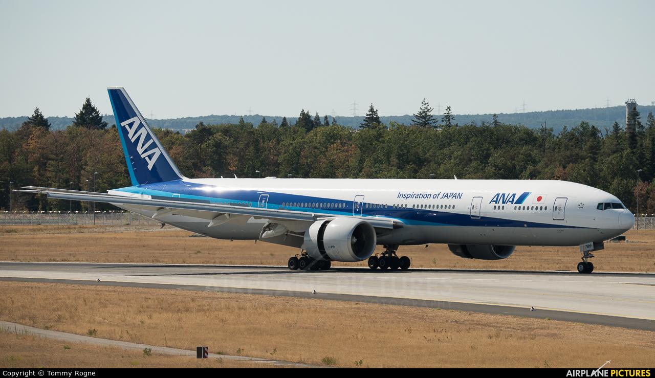 ANA - All Nippon Airways JA788A aircraft at Frankfurt
