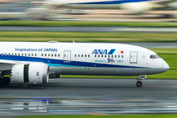 JA882A - ANA - All Nippon Airways Boeing 787-9 Dreamliner