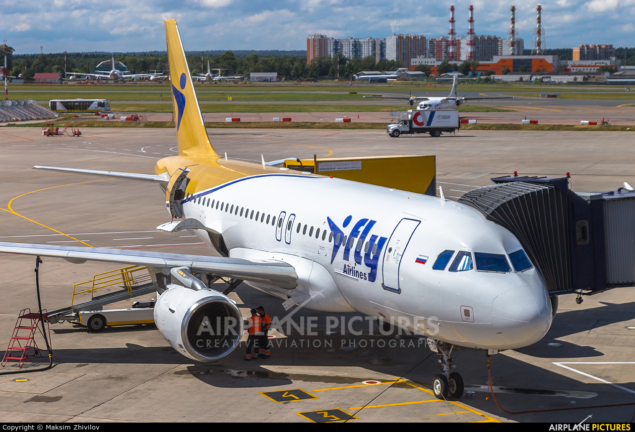 I-Fly Airlines EI-GFO aircraft at Moscow - Vnukovo