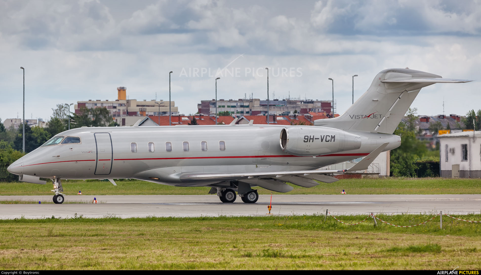 Vistajet 9H-VCM aircraft at Zagreb