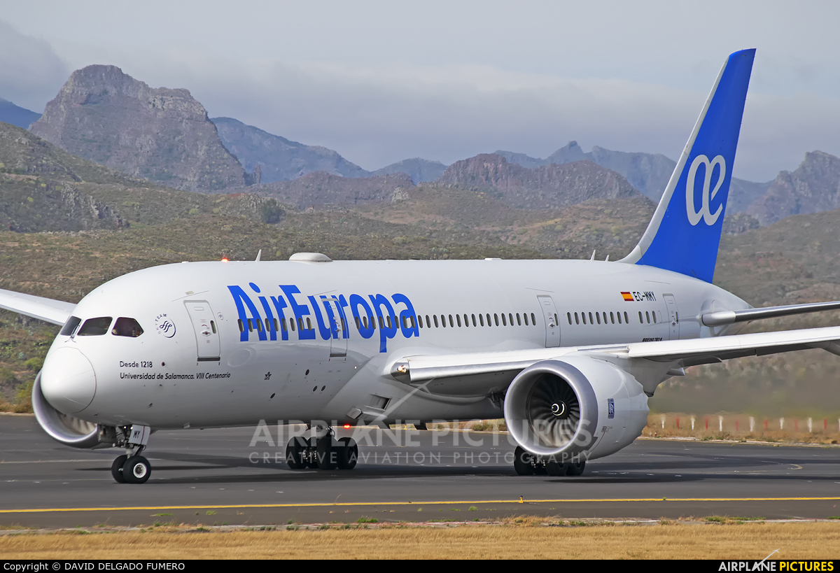 Air Europa EC-MMY aircraft at Tenerife Norte - Los Rodeos