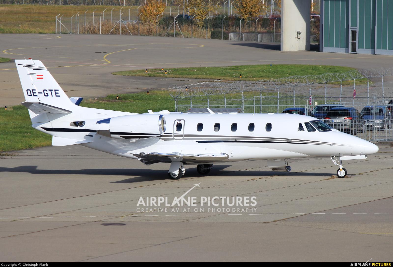 Private OE-GTE aircraft at Friedrichshafen