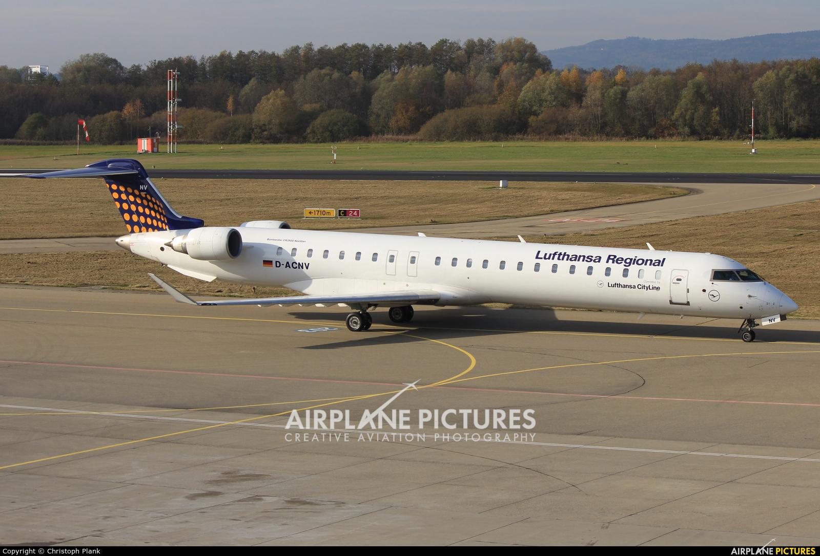 Lufthansa Regional - CityLine D-ACNV aircraft at Friedrichshafen