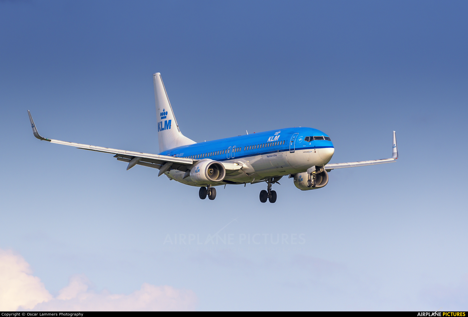 KLM PH-BXV aircraft at Amsterdam - Schiphol