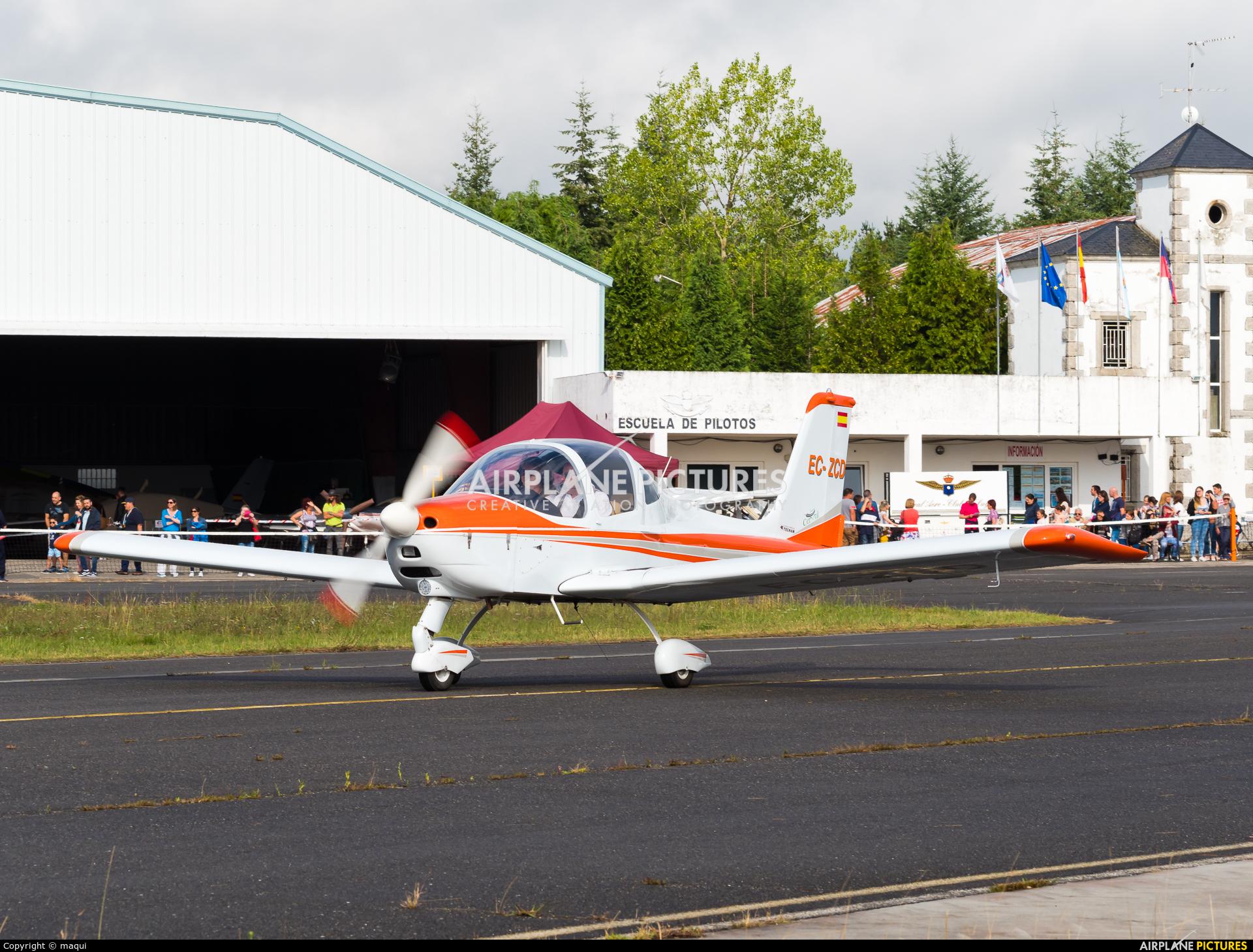 Private EC-ZCD aircraft at Lugo - Rozas