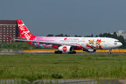 AirAsia X Airbus A330 wears new special scheme title=