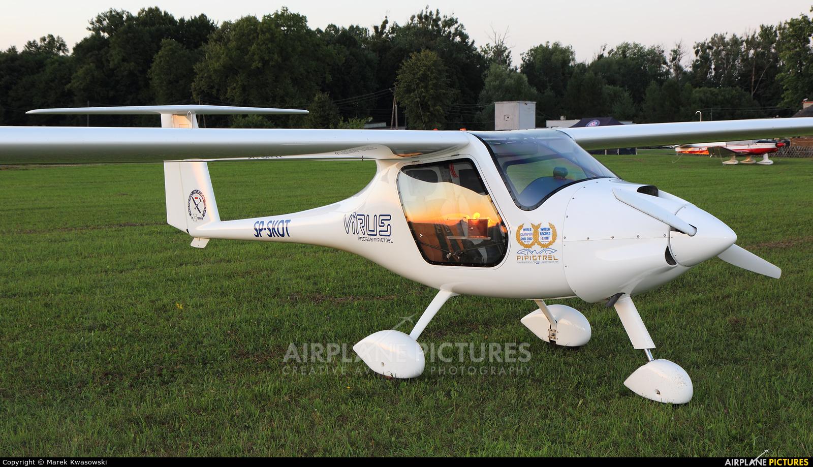 Pipistrel SP-SKOT aircraft at Kętrzyn - Wilamowo