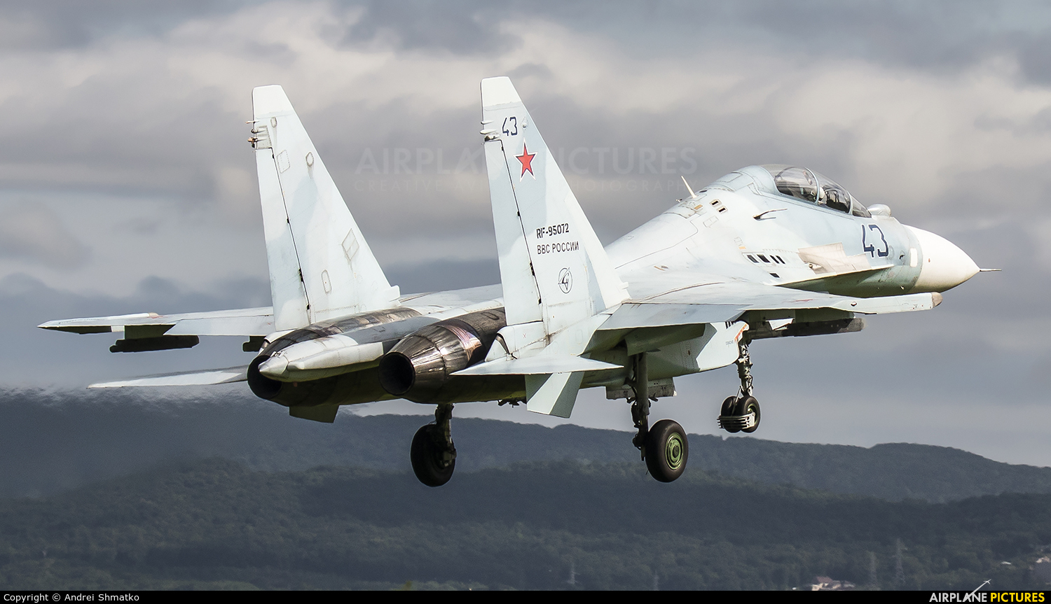 Russia - Air Force RF-95072 aircraft at Off Airport - Russia