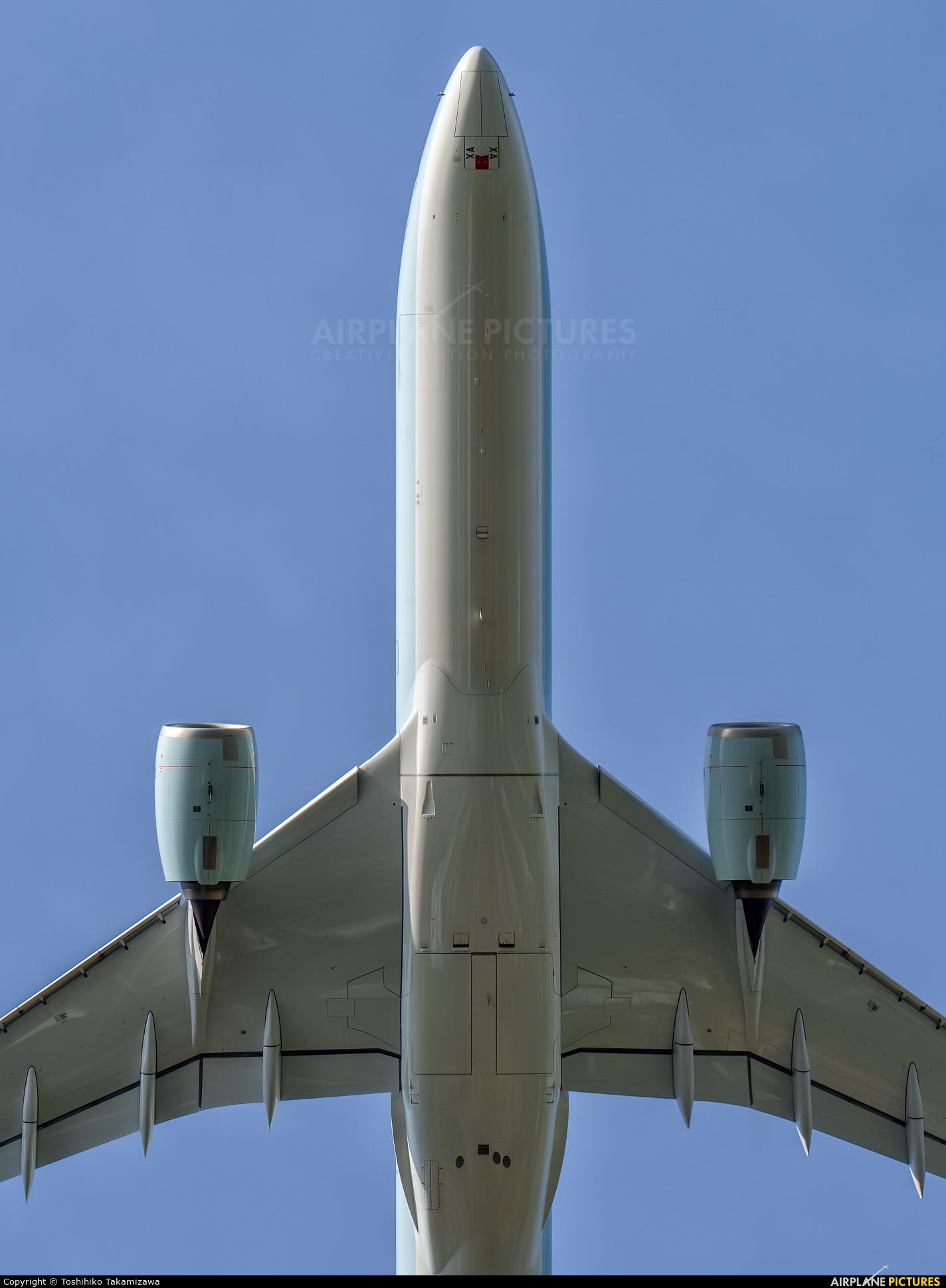 Cathay Pacific B-LXA aircraft at Taipei - Taoyuan